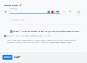 Google Ads - založení účtu 9