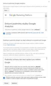 Jak založit účet Google Analytics 8